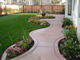 Faire une allée en béton pour le jardin le garage, avec différent ...