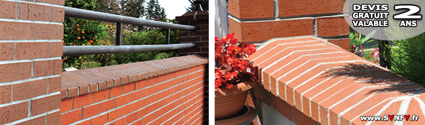Clôture De Jardin En Brique Synfy