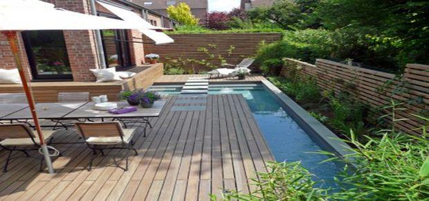 faire une terrasse en bois composite sur , avec différent